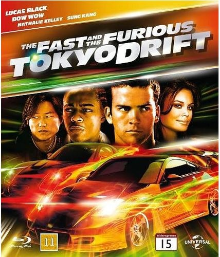 The Fast and the Furious: Tokyo Drift bluray