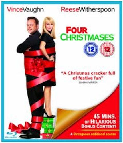Four Christmases/Borta bäst, hemma värst (Blu-ray) (Import)
