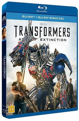Transformers: Age of Extinction bluray