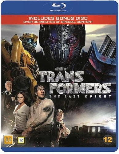 Transformers: The Last Knight bluray