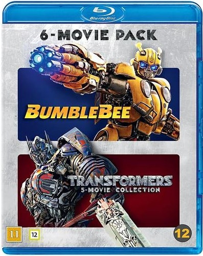 Transformers - 6-Movie Collection bluray