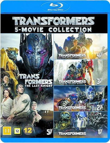 Transformers - 1-5 Boxset bluray
