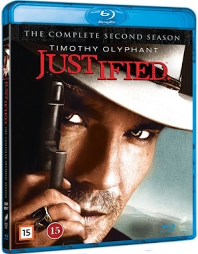 Justified - Säsong 2 bluray UTGÅENDE