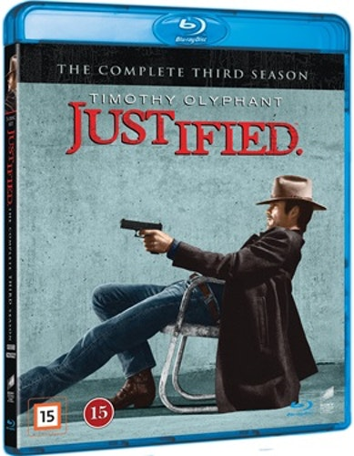 Justified - Säsong 3 bluray UTGÅENDE