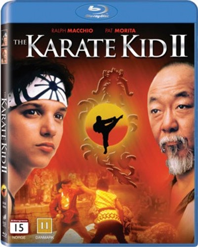 Karate Kid II: Mästarprovet bluray