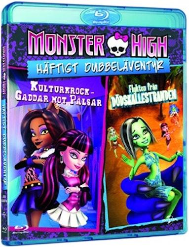 Monster High: Kulturkrock - Gaddar Mot Pälsar + Flykten Från Dödskallestranden bluray