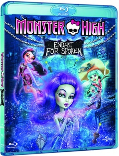 Monster High: Endast För Spöken bluray