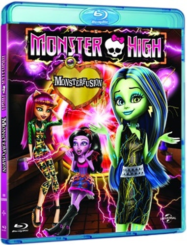 Monster High: Monsterfusion bluray