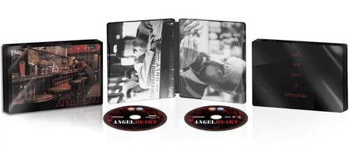 Angel Heart - 4K Ultra HD Steelbook (Includes 2D Blu-ray) import