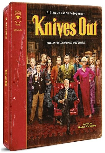 Knives Out - 4K Ultra HD Steelbook (Includes 2D Blu-ray) import