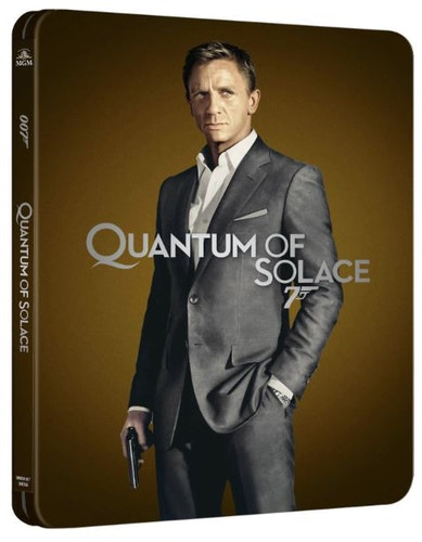 Quantum of Solace - 4K Ultra HD Steelbook (Includes 2D Blu-ray) import