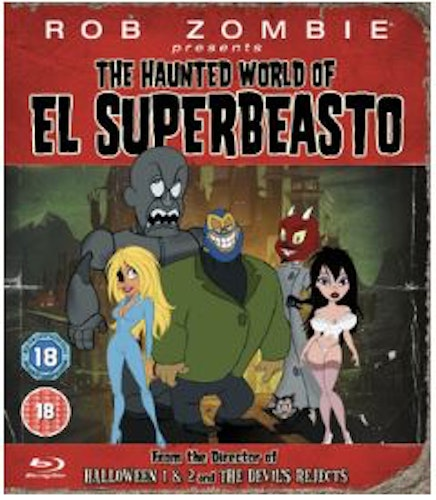 Rob Zombie Presents - The Haunted World Of El Superbeasto Blu-Ray (import)