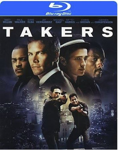 Takers bluray