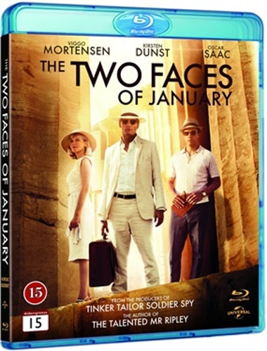 The Two Faces of January bluray UTGÅENDE