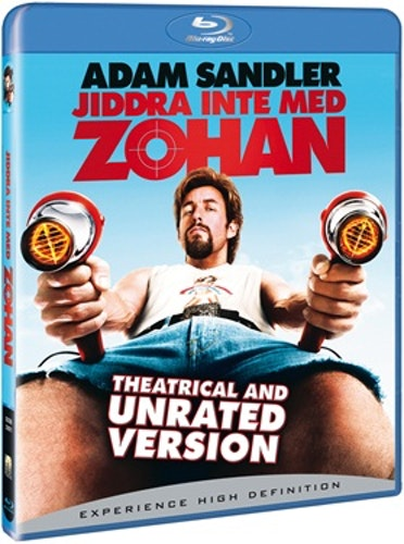 Jiddra Inte Med Zohan bluray UTGÅENDE