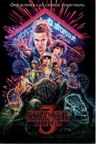 Stranger Things Poster affisch