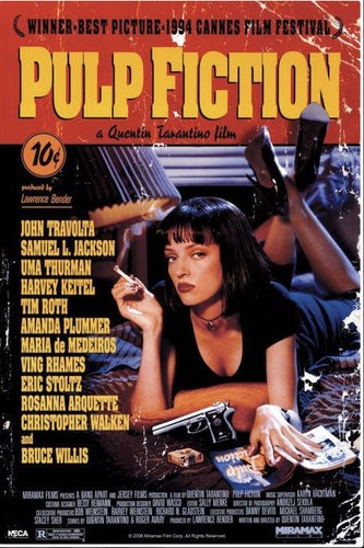 Pulp fiction affisch poster