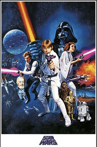 Poster Star Wars A New Hope affisch