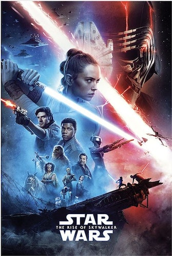 Poster Star Wars: The Rise of Skywalker - Saga affisch