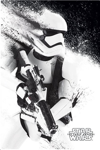 Poster Star Wars Episode VII: The Force Awakens - Stormtrooper affisch