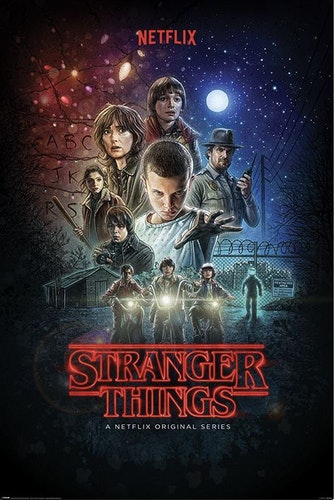 Stranger Things affisch Poster
