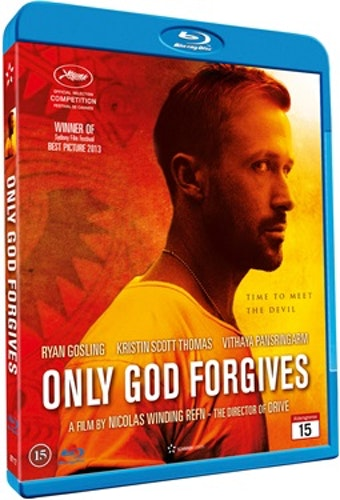 Only God Forgives bluray (import)