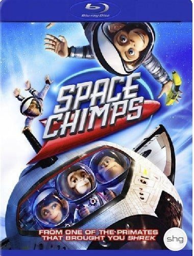 Space Chimps bluray