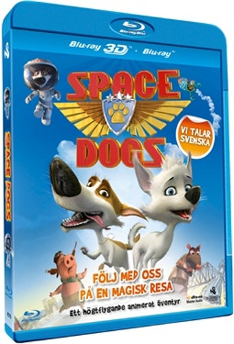 Space Dogs (3D) bluray