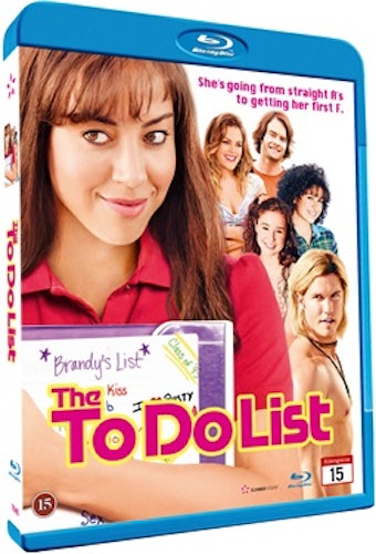 The To Do List bluray