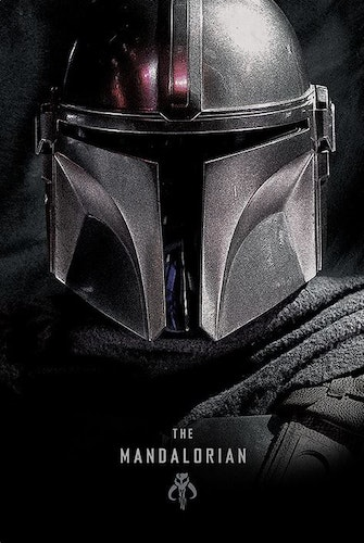 Poster Star Wars: The Mandalorian affisch