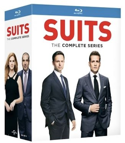 Suits - Complete series (Blu-ray) (34-disc)