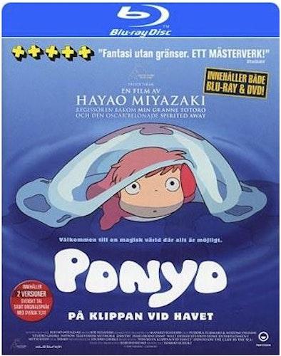 Ponyo på klippan vid havet (Blu-ray)