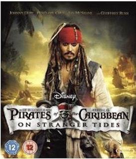 Pirates of the Caribbean: I främmande farvatten bluray (import med svensk text)