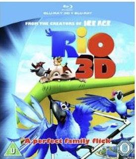 Rio 3D bluray (import med svenskt tal och text)