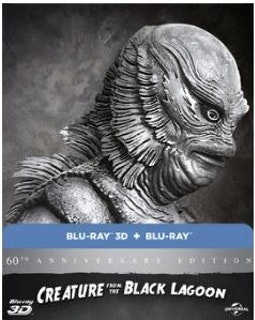 Creature From The Black Lagoon 3D+2D Steelbook (import) bluray