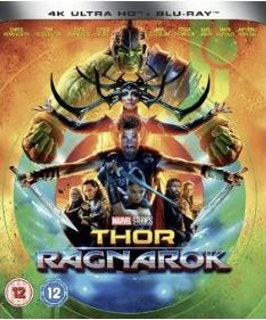 Thor Ragnarok 4K Ultra HD bluray