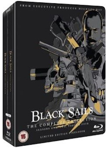Black Sails säsong 1-4 Steelbook (import)