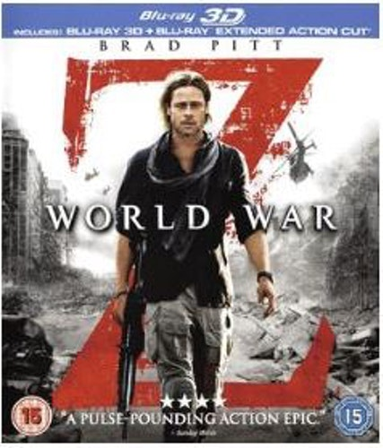 World War Z 3D bluray (import)