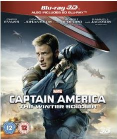 Captain America - The Winter Soldier 3D (import) bluray