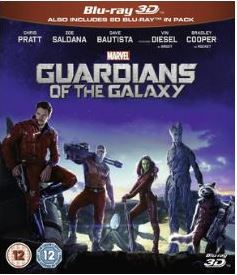 Guardians Of The Galaxy 3D (import) bluray