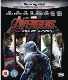 Avengers - Age Of Ultron 3D (import) bluray