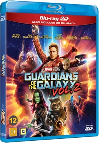 Guardians Of The Galaxy - Volume 2 3D bluray