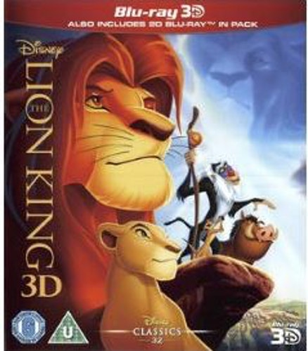 The Lion King 3D (import) bluray