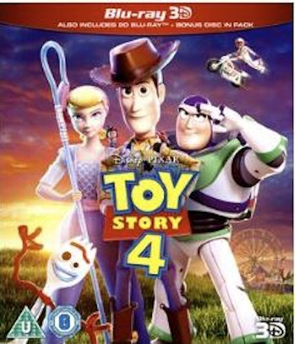 Toy Story 4 3D (import) bluray