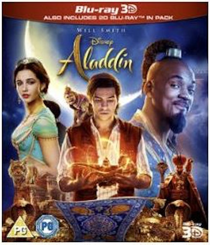 Aladdin 3D (2019, (import) bluray