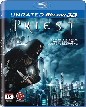 Priest 3D (bluray) import