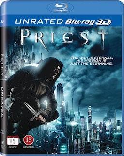 Priest 3D (bluray) import