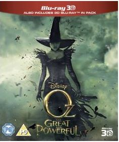 Oz - The Great And Powerful 3D (import) bluray