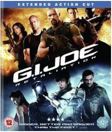 GI Joe - Retaliation - Extended Action Edition bluray (import med svensk text)