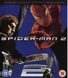 Spiderman 2 bluray (import med svensk text)